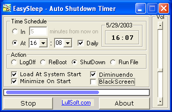 Auto Shutdown Timer - EasySleep 3.0.0 full